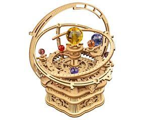 Robotime 3D DIY Model Build Set Wooden Mechanical MUSIC Box Gift UK Stock