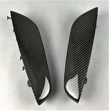BMW E46 CABRIO M3 REAR ARM RESTS ARMLEHNEN FOND MANIGLIE POSTERIORI CARBON NEW