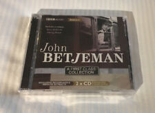 John Betjeman BBC A First Class Collection 2 CD Set **NEW FACTORY SEALED**