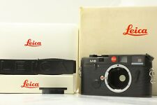【NEAR MINT+++ READ in Box】 Leica M6 Big Letter 0.72 Black Non TTL Camera JAPAN