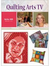 Quilting Arts TV Series 400 by Interweave (2009, DVD)