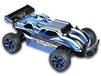 RC Truggy Fierce 1:18 4WD proportionales Gas inkl Akku und Ladegerät blau