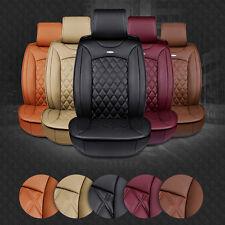 Fashion Luxury PU Leather Car Full Seat Cover Cushion Four Seasons Cushion Set