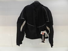 BUFFALO COOLFLOW Motorcycle Jacket - Black - Size 3XL
