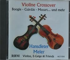 "CD Hansdieter Meier – ""Viiline Crossover""  Violine, E-Geige & Friends  Super!!!"