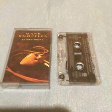 Mark Knopfler Cassette Golden Heart Rare Dire Straits