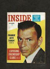 1954 Inside Magazine, December Issue, Frank Sinatra, New York Yankees, Good