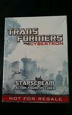HASBRO  TRANSFORMERS WAR FOR CYBERTRON STARSCREAM PROMO FIGURE FOR PS4 XBOX.