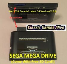 SEGA Genesis EverDrive MD v2 EDMD Cartridge, Mega Drive (for US EU& JP 16bit MD)