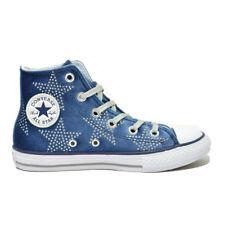 Sneakers Bambina Converse 658882c ct Hi Velvet Stars Autunno/inverno White 37
