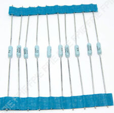 Lot Of 10 309 Ohm 110w 1 Metal Film Resistor Vishay Dale Rn55c3090f