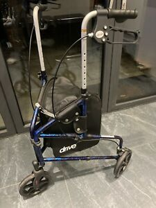 Drive Tri Wheel Walker With Brakes And Bag, Immaculate Condition, Hardly Used