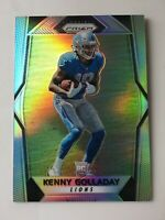 2017 Panini Prizm Football Kenny Golladay Silver Prizm Rookie Card!! Lions Rc