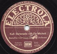 Barnabas von Geczy Orchester : Kuß-Serenade + Berceuse von Järnefeldt