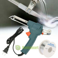 110V 60W Adjustable Electric Temperature Gun Welding Soldering Iron Tool +Wired