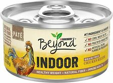 (Pack of 24) Purina Beyond Grain Free, Natural, Adult Wet Cat Food - Chicken 3 O
