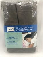 DRYzzz Two-Sided Reversible Standard Towel/Pillowcase in Gray Absorbs Moisture