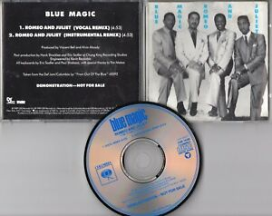 Blue Magic Promo-CD ROMEO AND JULIET © 1989 USA 2-track Funk Soul NEVER PLAYED