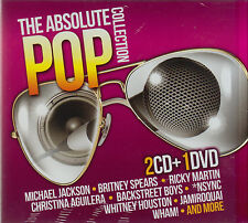 CD - POP 2 CD's + DVD The Absolute Collection (Sony Music) Fast Shippping!