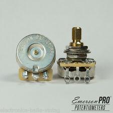 1x EMERSON PRO CTS 250K 8% TOLERANCE AUDIO TAPER SPLIT SHAFT POTENTIOMETER