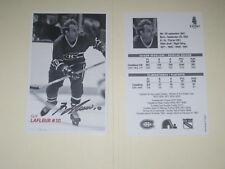 Montreal Canadiens GUY LAFLEUR Signed Photo NHL AUTOGRAPH