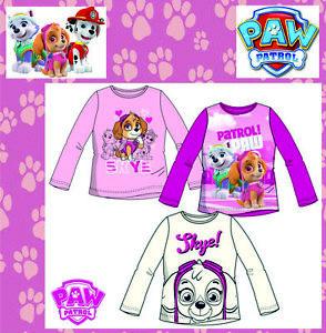 Paw Patrol Skye Sweatshirt T-Shirt langarm Kinder Disney 98-116