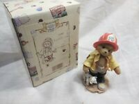 "Cherished Teddies "" Curtis D Claw Membear Only Figure"" Boxed"