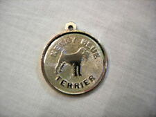 Vintage Sterling Dog ~Charms . Poodle ~ Kerry Blue Terrier ~ Dachshund / Doxie