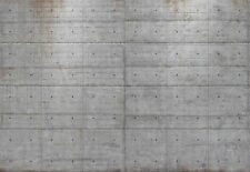 Komar 8-938 Fototapete Concrete Blocks Beton 368 x 254 cm - inklusive Kleister