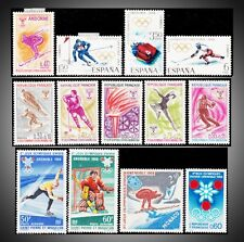 1968 GRENOBLE OLYMPICS ON ANDORRA SPAIN MONACO FRANCE ST.PIERRE ET MIQUELON