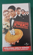 CS13> FILM VHS AMERICAN PIE IL MATRIMONIO