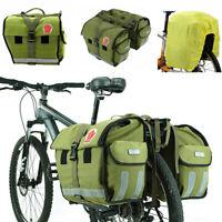 Roswheel Waterproof 50L Bicycle Rear Seat Carrier Pannier Bike Rack Pack Bag