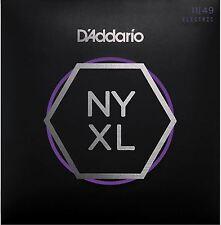 D'Addario NYXL1149 cordes pour guitare électrique medium 11-49 - dernier modèle