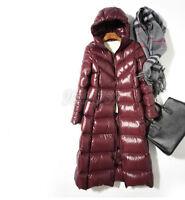 Mode Damenmode Winterjacke glänzend Kapuzejacke Daunenjacke Mantel Gr:S-XL