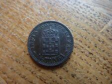 1903 1/12 Tanga Goa India Moneda De Portugal