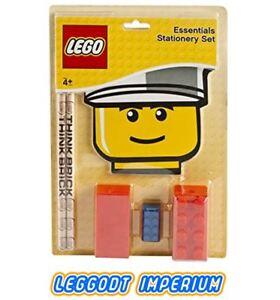LEGO Stationery Set - Essentials School Study pencils eraser - FREE POST