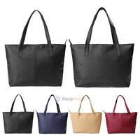 Womens Faux Leather Fashion Messenger Hobo Handbag Lady Shoulder Bag Totes Purse