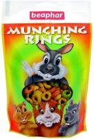 BEAPHAR MUNCHING RINGS 75g Bites - Rabbit, Guinea Pig, Hamster, Pet treat