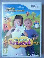 Mon Premier Karaoké Jeu Vidéo Nintendo Wii