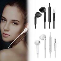Noise Isolating Handsfree Headphones Earphones Earbud with Mic U6R3