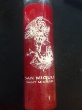 7 Day Candle- San Miguel- Saint Michael -Candle Magic-Wicca- Santeria- Pagan