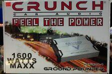 CRUNCH POWERZONE CAR AUDIO GPV1600.4 WATTS MAXX 4 CHANNEL AMPLIFIER