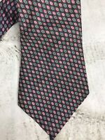 Vintage Christian Dior Necktie Silk Multi-color Dots 56 x 4""