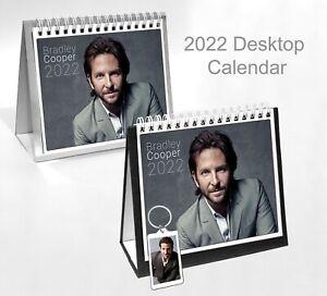 Bradley Cooper 2022 Office Desktop Holiday Calendar + Key ring