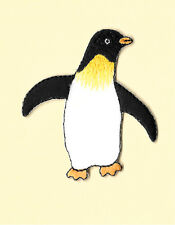 Penguin ~ Artic - Bird - Felt/Embroidered Iron On Applique Patch