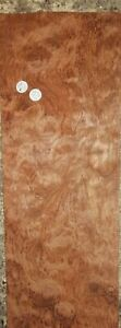 LARGE CONSECUTIVE SHEETS  OF BUBINGA VENEER 98 X 17 cm BB#1 MARQUETRY