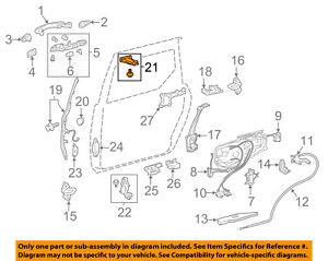 TOYOTA OEM 04-10 Sienna Side Sliding Door-Roller & Bracket 6831008020