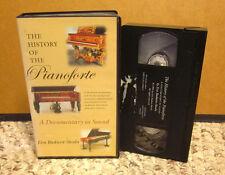 PIANOFORTE documentary VHS History of Piano 1720+ music video Eva Badura-Skoda