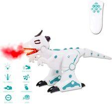 Remote Control RC Intelligent Dinosaur Robot Smoke Effect Lights Sounds T-Rex