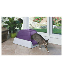 PetSafe ScoopFree Self-Cleaning Litter Box for Cats - Purple